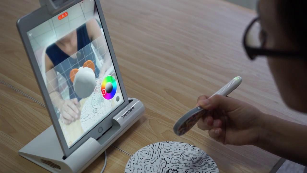 Druckfähige 3D-Modelle einfach in der Luft gezeichnet