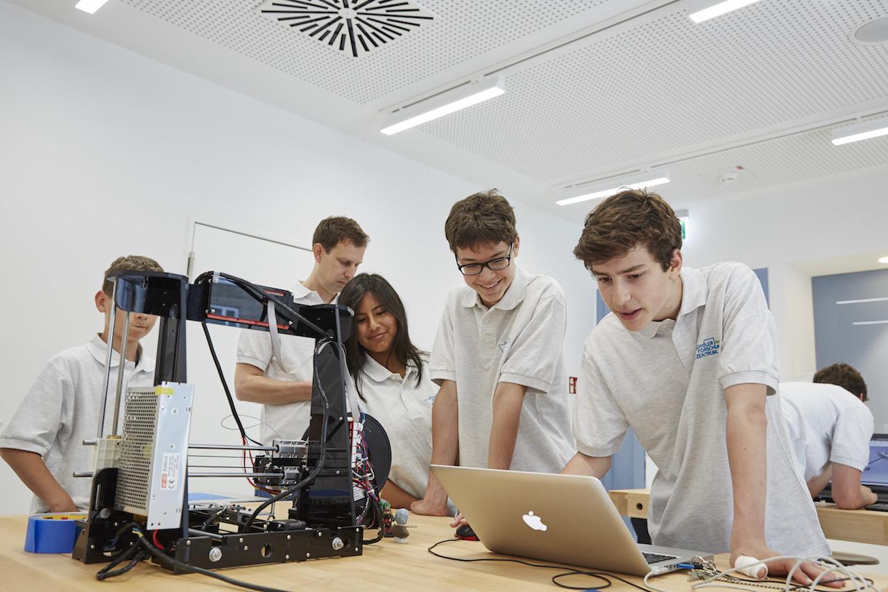 Neues Schülerforschungszentrum in Hamburg