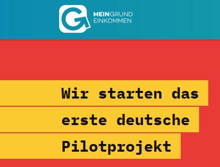 Pilotprojekt Grundeinkommen live aus dem Haus der Bundespressekonferenz